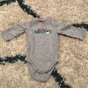 Gymboree My first Christmas onesie
